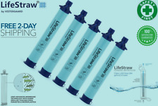 LifeStraw Personal Water Filter for Hiking, Camping, Straw Hydration - US Seller