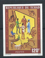 Tchad N°315** (MNH) 1976 N. Dentelé - Réconciliation nationale