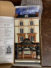 More details for hazle ceramics a nation of shopkeepers pottery plaque the cross keys pub london