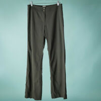 Armani Collezioni Size 8 Pants Brown Wool Straight Leg Career Work Trousers