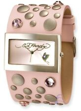 "Ladies Ed Hardy "" LOVE CHILD ""-Pink Watch NIB!Beautiful"