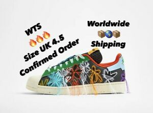🔥Adidas Superstar Sean Wotherspoon Superstar Superearth UK 4.5 Confirmed 🔥