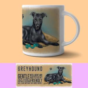 Greyhound Mug Descriptive Dog Gift/Present