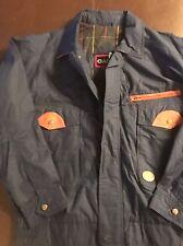 New Gant Jacket With Leather Trim Xl