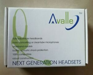 Avalle AV601N Monaural Noise Cancelling Professional Wideband Headset NEW BOXED