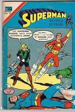 SUPERMAN 2 1133 1977 SPANISH MEXICAN COMIC NOVARO