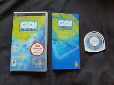 GO! SUDOKU Sony PSP Game