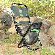 Folding Chair Foldable Small Camping Travel Picnic BBQ Fishing Outdoor +ZIP Sit