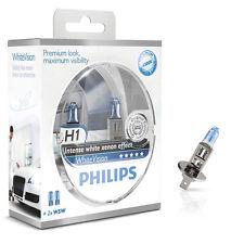 Philips H1 White Vision 4300K Xenon Effect 60% mehr Licht 2er Set 12258WHVSM
