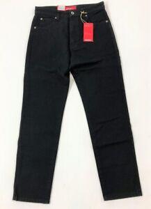 Paddocks Jeans Hose B601 L.S. (Edwin London Slim) Black Schwarz 100% Baumwolle