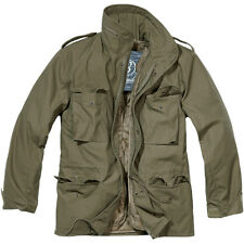Brandit M65 Estándar chaqueta de campo Parka estilo los E.E.U.U. con m aceituna