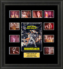 James Bond Moonraker 1979 Framed 35mm Film Cell Memorabilia Filmcells Movie Cell