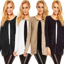 Damen-Pullover & -Strickware mit Rundhals-Ausschnitt aus Polyester in Größe 38