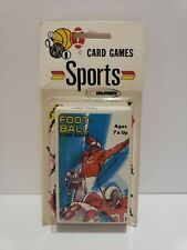 RARE Vintage Warren Paper Products Football Card Game NEW SEALED