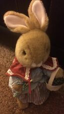 Eden Beatrix Potter Mrs. Rabbit with Basket and Umbrella (See Description)