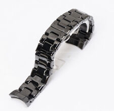 band compatible with Emporio Armani Ar1400 New 22mm Ceramic Black strap bracelet
