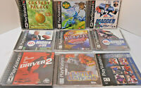 Playstation Video Game Collection PS (8) Different Games All For 1 Money!!