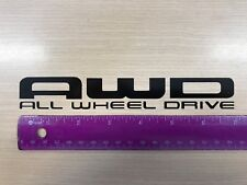2X AWD Honda STICKERS decal sticker All Wheel drive White -Black- Silver or Gold