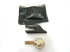 Blumberg Excelsior Corporate Seal Pocket Seal Embosser Handle Seal Case EJBT