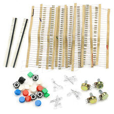 Electronic Parts Pack Kit For ARDUINO Component Resistors Switch Button New