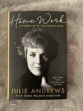 JULIE ANDREWS Book SIGNED Home Work Emma Walton Hamilton AUTOGRAPHED