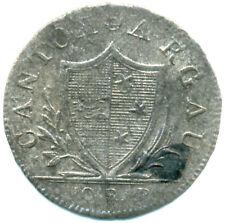 Schweiz, Kanton Aargau, 1 Batzen 1807 kl. Auflage
