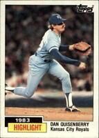 1984 Topps Baseball (Pick Card From List 1-248)