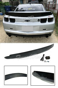 For 10-13 Chevrolet Camaro Rear Trunk ZL1 Style Wing Lip Spoiler W/ Wicker Bill