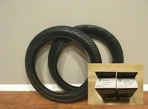 "Two (2) Vee Rubber Tires 20"" x 3.0"" V282 All Black Bike Bicycle Tires + 2 Tubes"