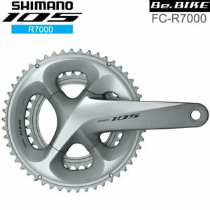 SHIMANO 105 FC-R7000 Silver 11S Bicycle Crankset R7000 Series From Japan