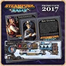 Steampunk Rally Promo Pack Rube Goldberg Dr Braun Liang Red Green Ignacy Spoiler
