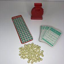 BINGO-MATIC Transogram's Bingo Vintage Game 1954 -  Made in USA