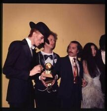 David Bowie Paul Simon Art Garfunkel Yoko Ono Original 2.25 x 2.25 Transparency