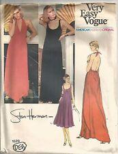 Vogue Sewing Pattern 1529 Stan Herman Vintage Dresses 2 Styles, Size 12, Uncut
