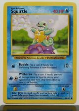 Squirtle 63/102 - NM / M - Base Set Pokemon Card - $1 Combined Shipping