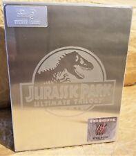 JURASSIC PARK ULTIMATE TRILOGY LOST WORLD III Bluray HDZeta STEELBOOK Boxset OOP