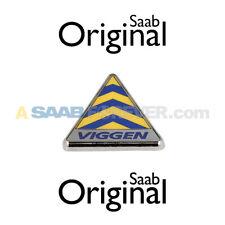 SAAB 9-3 VIGGEN EMBLEM BADGE FENDER DELTA NEW GENUINE OEM REPRODUCTION 5121629