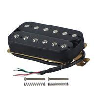 Electric Guitar Humbucker Pickups Neck Alnico V Pickup Black L4H1