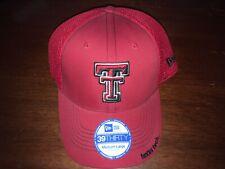 Texas Tech Red Raiders Flex Fit Medium/Large Hat (Baseball Cap) Red