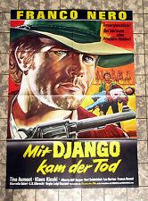 FRANCO NERO * Mit Django kam der Tod * A1-FILMPOSTER - Klaus Kinski ´68 ITALO