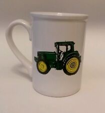 John deere tractor pic coffee/tea mug/cup 16 oz green/yellow/white small chip