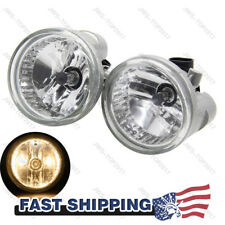 2x Clear Fog Lights Bumper Driving For 04-07 Toyota Highlander 04-09 Prius