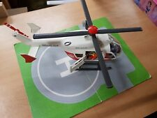 playmobil air rescue helicopter with landing pad 4222