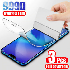 3PCS Hydrogel Film Screen Protector For Huawei P10 P10 Plus P20 P20 Lite P20 Pro