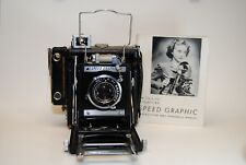 Graflex Speed Graphic camera with Graflex Optar f4.5 101 mm lens