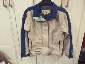 Columbia Ski Jacket - women's Size Small  Blue and grey