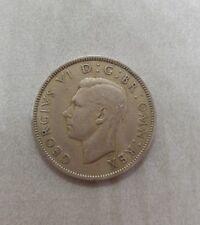 1949 GEORGIVS VI D:G:BR:OMN:REX Two Shillings 1949 FID:DEF GR