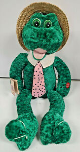 """CHANTILLY LANE MUSICAL ANIMATED LOUIE FROG Plush Sings """"WHAT A WONDERFUL WORLD"""""""