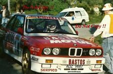 François Chatriot BMW M3 Tour De Corse Rally 1989 Photograph 1