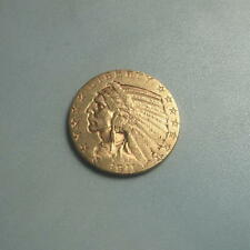 Rare 1911-S Gold $5 Indian Head Half Eagle Coin ~ BU+ ~ (#176)